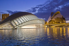 Valencia's City of Arts and Science Museum Royalty Free Stock Photography