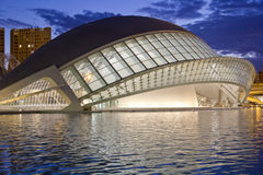 Valencia's City of Arts and Science Museum Stock Photo