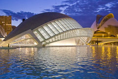 Valencia's City of Arts and Science Museum Stock Photography
