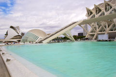 Valencia's City of Arts and Science Museum Royalty Free Stock Image