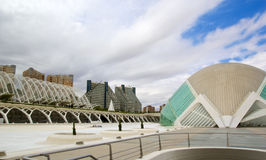 Valencia's City of Arts and Science Museum Stock Image