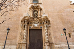 Valencia san Juan de la Cruz church in spain Royalty Free Stock Photo