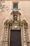 Valencia san Juan de la Cruz church in spain Royalty Free Stock Photography