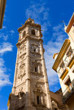 Valencia Santa Catalina church belfry tower Spain Royalty Free Stock Images