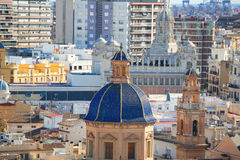 Valencia Santo Tomás-Kirche San Felipe Neri Stockfotografie