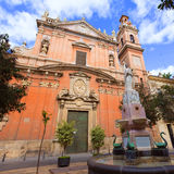 Valencia Santo Tomas church san Vicente Ferrer Royalty Free Stock Images