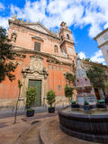 Valencia Santo Tomas church san Vicente Ferrer Stock Photo