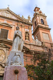 Valencia Santo Tomas church san Vicente Ferrer Royalty Free Stock Photos