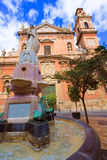 Valencia Santo Tomas church san Vicente Ferrer Stock Photos
