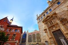 Valencia Santos Juanes Church en España Fotografía de archivo