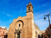 Valencia Santos Juanes Church en España Imágenes de archivo libres de regalías