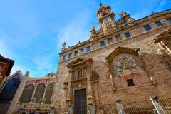 Valencia Santos Juanes Church en España Imagenes de archivo