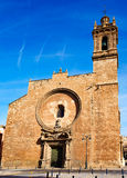 Valencia Santos Juanes Church en España Imagen de archivo