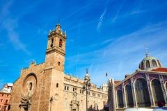 Valencia Santos Juanes Church en España Fotos de archivo