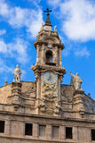 Valencia Santos Juanes church facade Spain Stock Photo