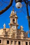 Valencia Santos Juanes church facade Spain Royalty Free Stock Photography