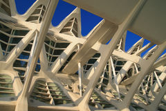 Valencia Science Center. Science Center in the Ciudad de Artes y Ciencias in Valencia, Spain Stock Images