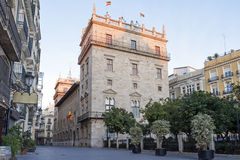Valencia. Seat of the autonomous government. Palau de la Generalitat in Valencia.Seat of the autonomous government.. Spain Stock Photography