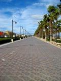 Valencia, sentiero costiero Fotografie Stock Libere da Diritti