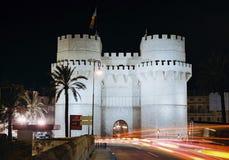 Valencia, Serrano's Towers Stock Images