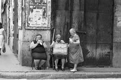VALENCIA, SPAGNA - AGOSTO 1982 Fotografie Stock