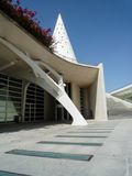 Valencia, Spain - August 2009: Arts and Science Museum by Calatrava Royalty Free Stock Photo
