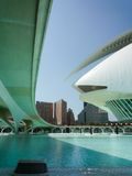 Valencia, Spain - August 2009: Arts and Science Museum by Calatrava Stock Image