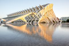 City of Arts and Sciences in Valencia Royalty Free Stock Photography