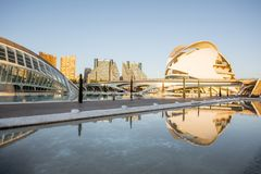 City of Arts and Sciences in Valencia Stock Photos