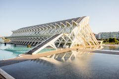 City of Arts and Sciences in Valencia Stock Images