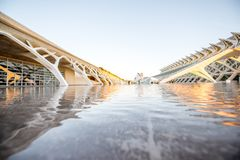 City of Arts and Sciences in Valencia Royalty Free Stock Photo