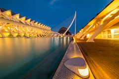 VALENCIA, SPAIN - August 2018 Museum of Science in Valencia royalty free stock images