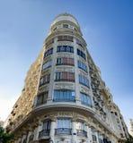VALENCIA, SPAIN - AUGUST 5,2016: Rich facade of Venecia hotel Stock Images