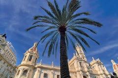 Valencia Spain | Ayuntamiento foto de archivo