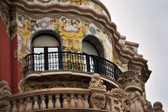 Valencia Spain Balcony Royalty Free Stock Images
