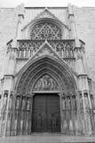 Valencia Spain, catedral Imagens de Stock
