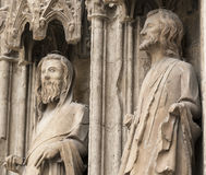 Valencia Spain, cathedral Stock Photography