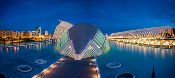 Valencia, Spain, City of Arts and Science Royalty Free Stock Photo