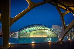 Valencia, Spain, City of Arts and Science Stock Images