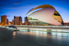 Valencia, Spain, City of Arts and Science Stock Photography