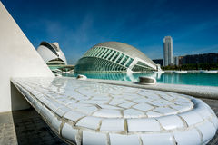 Valencia, Spain, City of Arts and Science Stock Image