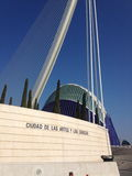 Valencia, Spain. City of the Arts and Sciences Stock Photo