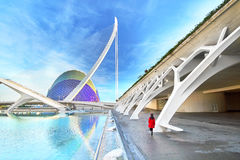 Valencia Spain City of Arts and Sciences Royalty Free Stock Image