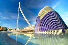 Valencia Spain City of Arts and Sciences Royalty Free Stock Photo