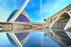 Valencia Spain City of Arts and Sciences Stock Photography
