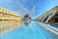 Valencia Spain City of Arts and Sciences Stock Photos