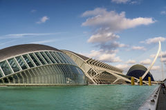 Valencia (Spain), City of Arts and Sciences Stock Photo