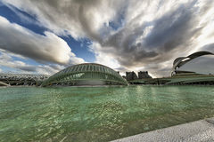 Valencia (Spain), City of Arts and Sciences Royalty Free Stock Photography