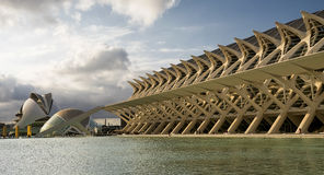 Valencia Spain, City of Arts and Sciences Stock Photography