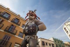 Valencia,Spain. Fallas, Falles, traditional and famous celebration, Ninots, puppets,Valencia, Spain Stock Photo
